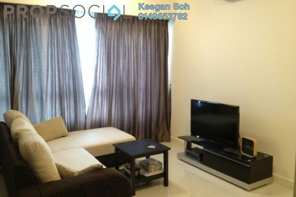 For Rent Condominium at Tiffani Kiara, Mont Kiara Freehold Fully Furnished 2R/2B 4k