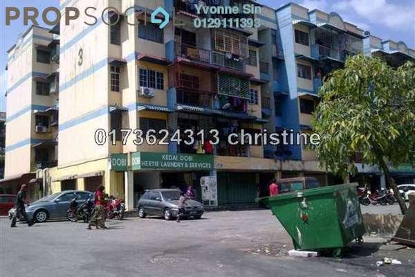 For Sale Apartment at Pandan Mewah, Pandan Indah Leasehold Semi Furnished 3R/1B 165k