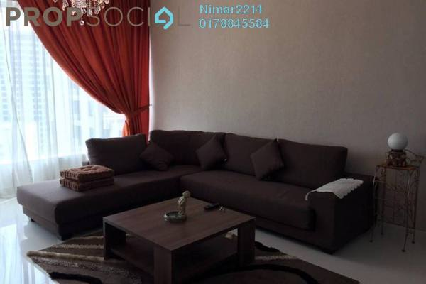 For Rent Condominium at Verticas Residensi, Bukit Ceylon Freehold Fully Furnished 2R/2B 7k
