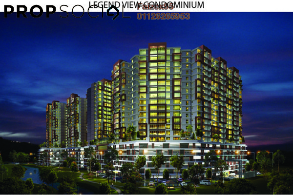 For Sale Condominium at LegendView Condominium, Rawang Freehold Unfurnished 3R/2B 357k