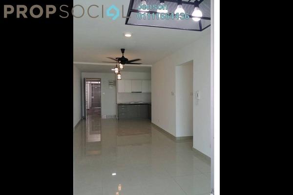 For Rent Condominium at Kiara Residence 2, Bukit Jalil Leasehold Semi Furnished 3R/2B 1.4k