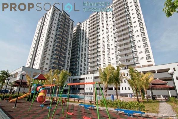 For Sale Condominium at Kinrara Mas, Bukit Jalil Freehold Semi Furnished 3R/2B 550k