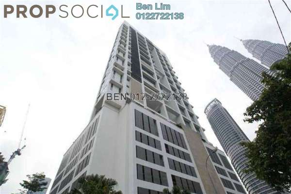 For Rent Condominium at The Meritz, KLCC Freehold Fully Furnished 2R/3B 6.5千