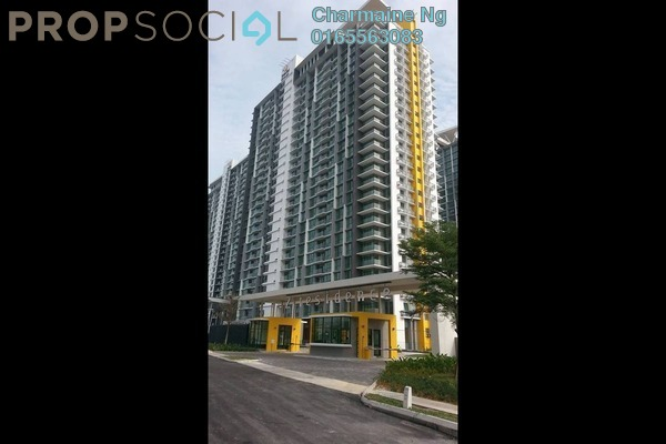For Rent Condominium at The Z Residence, Bukit Jalil Freehold Semi Furnished 3R/2B 1.5k