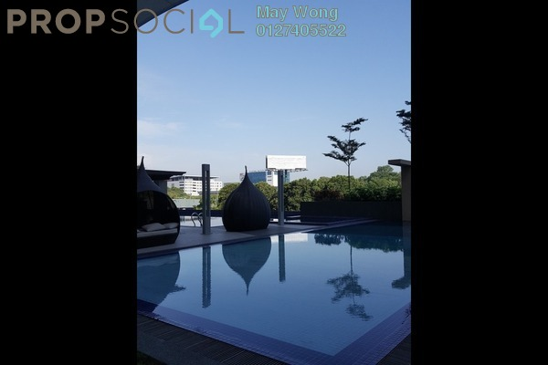 For Rent Serviced Residence at Isola, Subang Jaya Freehold Fully Furnished 0R/1B 2.5k