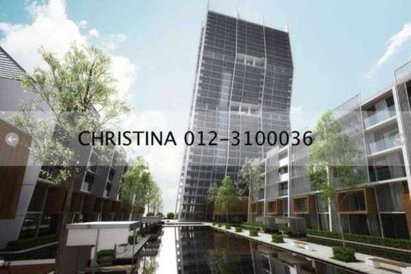 For Sale Condominium at The Capers, Sentul Leasehold Unfurnished 3R/3B 1.1m