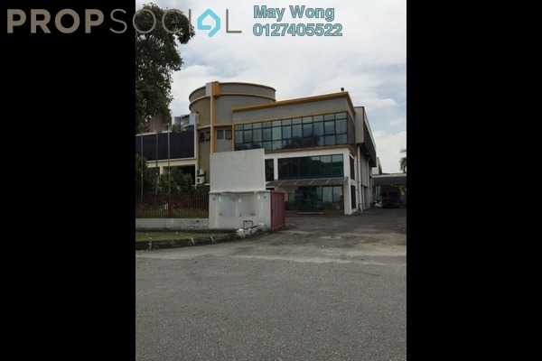 For Rent Factory at Glenmarie Cove, Port Klang Freehold Semi Furnished 0R/0B 19k