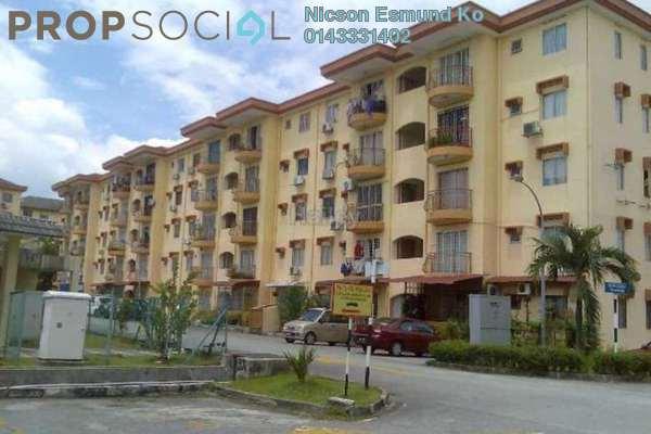 For Rent Apartment at Goodyear Court 3, UEP Subang Jaya Freehold Semi Furnished 3R/2B 1.25k