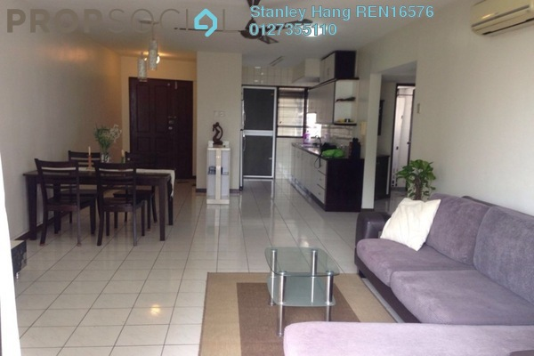 For Rent Condominium at Mont Kiara Pines, Mont Kiara Freehold Fully Furnished 3R/2B 3.5k