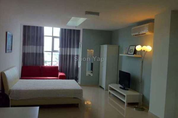 For Rent Condominium at First Subang, Subang Jaya Freehold Fully Furnished 0R/1B 1.4k