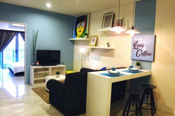 For Rent Condominium at Summer Suites, KLCC Leasehold Semi Furnished 1R/1B 2.8k