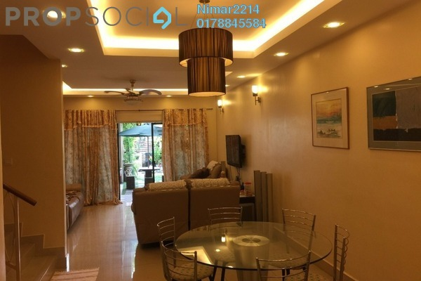 For Sale Terrace at Paragon Heights, Bandar Kinrara Leasehold Semi Furnished 6R/5B 1.45m