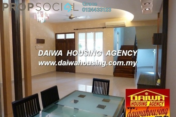 For Rent Terrace at Hill View Garden, Tanjung Bungah Freehold Semi Furnished 5R/4B 2k