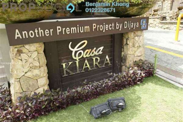 For Sale Condominium at Casa Kiara II, Mont Kiara Freehold Semi Furnished 3R/3B 1.18m