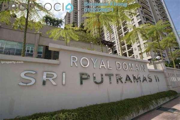 For Sale Condominium at Sri Putramas II, Dutamas Freehold Semi Furnished 3R/2B 680k