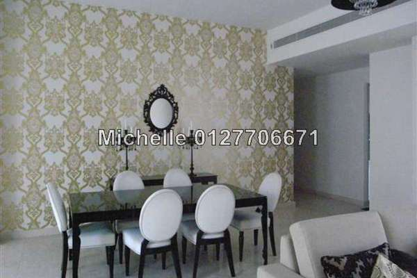 For Rent Condominium at The Meritz, KLCC Freehold Fully Furnished 3R/3B 6.7k