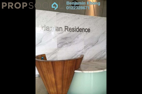For Rent Condominium at Idaman Residence, KLCC Freehold Fully Furnished 3R/3B 8k