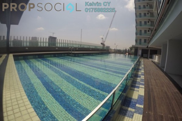For Rent SoHo/Studio at Kelana Damansara Suite, Kelana Jaya Freehold Semi Furnished 0R/1B 1.2k