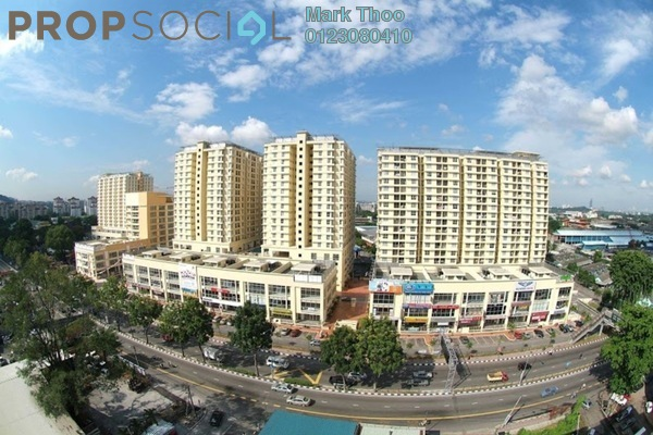 For Sale Condominium at Warisan Cityview, Cheras Leasehold Semi Furnished 3R/2B 449k