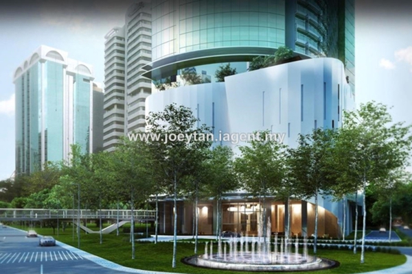 For Sale Condominium at Banyan Tree, KLCC Leasehold Unfurnished 2R/2B 3m