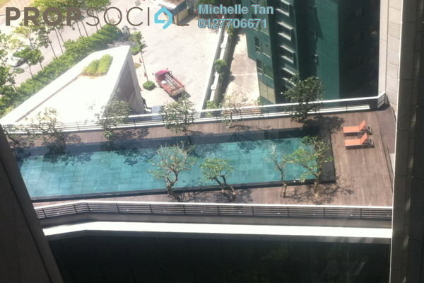 For Rent Condominium at The Troika, KLCC Freehold Fully Furnished 2R/3B 9.5k