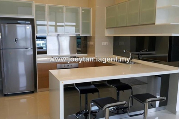 For Rent Condominium at Mirage Residence, KLCC Leasehold Unfurnished 3R/4B 7k