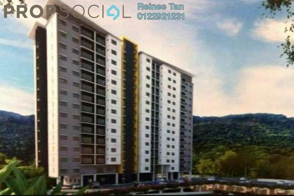 For Sale Apartment at Tiara South, Semenyih Freehold Semi Furnished 3R/2B 275k