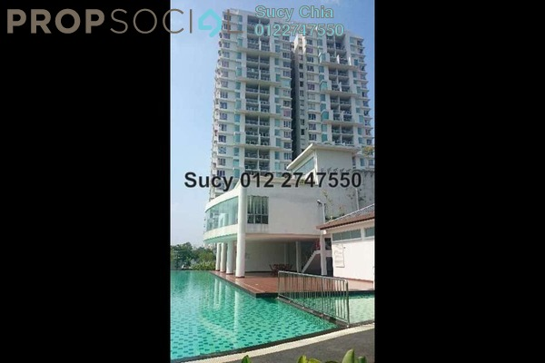 For Sale Condominium at Zen Residence, Puchong Leasehold Semi Furnished 3R/2B 490.0千