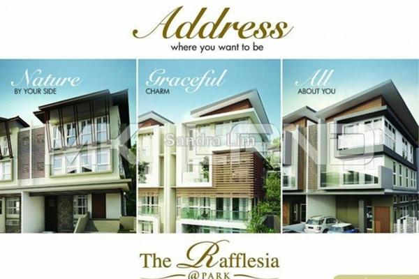 For Sale Semi-Detached at The Rafflesia, Damansara Perdana Leasehold Semi Furnished 5R/6B 3.3m