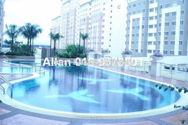 For Rent Apartment at Suria Kinrara, Bandar Kinrara Leasehold Semi Furnished 3R/2B 1.2k
