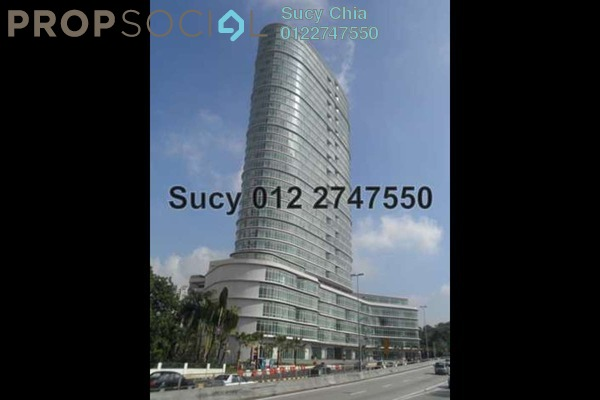 For Rent Office at Oval Tower, TTDI Freehold Semi Furnished 0R/0B 3.8k