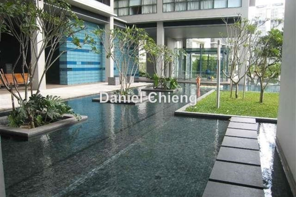 For Rent Condominium at Park Seven, KLCC Leasehold Semi Furnished 3R/4B 12k