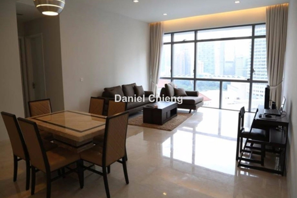 For Rent Condominium at Panorama, KLCC Leasehold Fully Furnished 2R/2B 6k