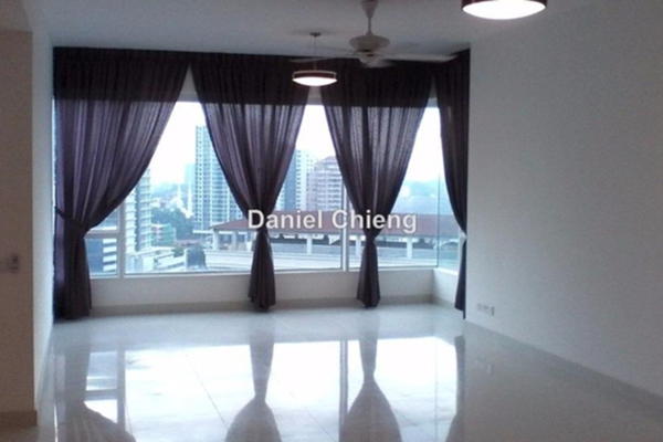 For Rent Condominium at Verticas Residensi, Bukit Ceylon Leasehold Semi Furnished 4R/3B 7k