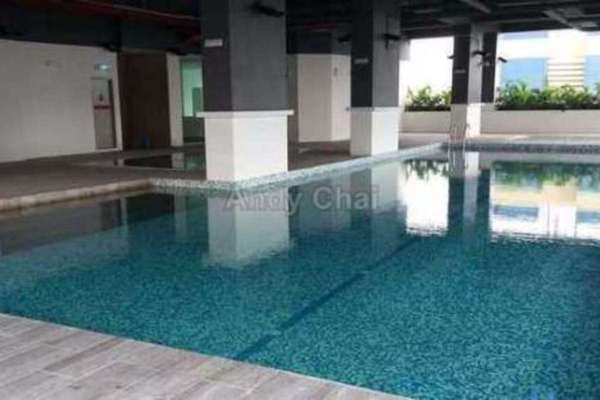 For Sale Condominium at Vue Residences, Titiwangsa Freehold Semi Furnished 3R/2B 840k