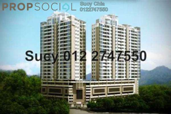 For Rent Condominium at Sky Vista Residensi, Cheras Freehold Semi Furnished 3R/3B 2.3k