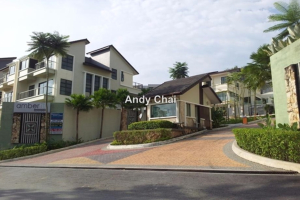 For Rent Semi-Detached at Amberhill, Melawati Freehold Semi Furnished 7R/8B 7k