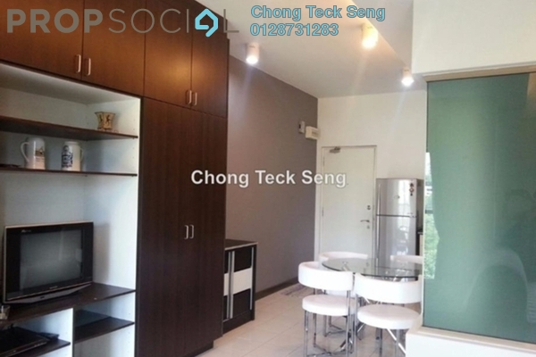 For Sale SoHo/Studio at Ritze Perdana 1, Damansara Perdana Leasehold Fully Furnished 0R/1B 330k