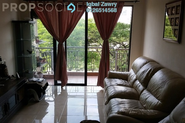 For Sale Condominium at Casa Indah 1, Tropicana Leasehold Semi Furnished 4R/3B 795k