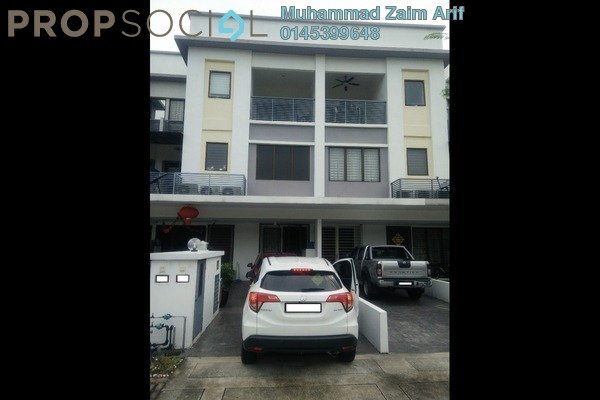 For Sale Townhouse at Odora Parkhomes, 16 Sierra Leasehold Fully Furnished 3R/3B 700k