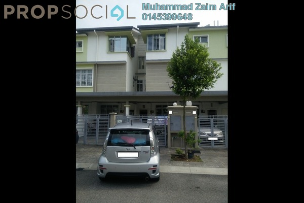 For Sale Townhouse at Alam Sanctuary, Bandar Putra Permai Leasehold Unfurnished 3R/2B 530k
