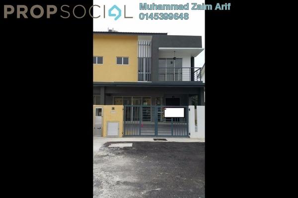 For Sale Semi-Detached at Taman Delima Jaya 2, Dengkil Leasehold Unfurnished 4R/3B 640k