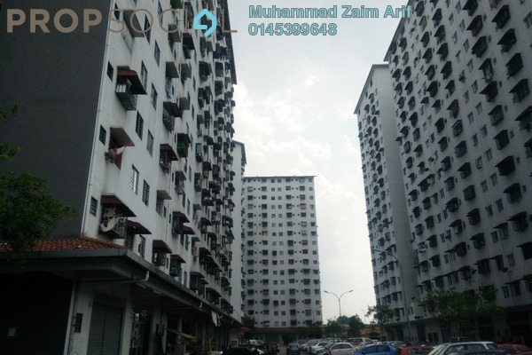 For Sale Apartment at Ken Rimba, Shah Alam Freehold Unfurnished 3R/2B 130k
