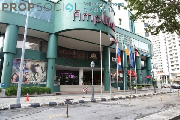 For Sale Office at AmpWalk, Ampang Hilir Freehold Fully Furnished 0R/0B 590k