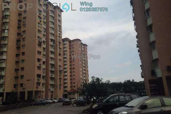 For Sale Apartment at Desa Dua, Kepong Freehold Unfurnished 3R/2B 290k