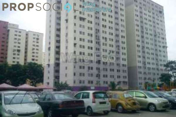 For Sale Apartment at Permata Fadason, Jinjang Leasehold Unfurnished 3R/2B 128k