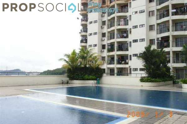 For Rent Apartment at Ixora Apartment, Kepong Leasehold Semi Furnished 3R/2B 1.1k