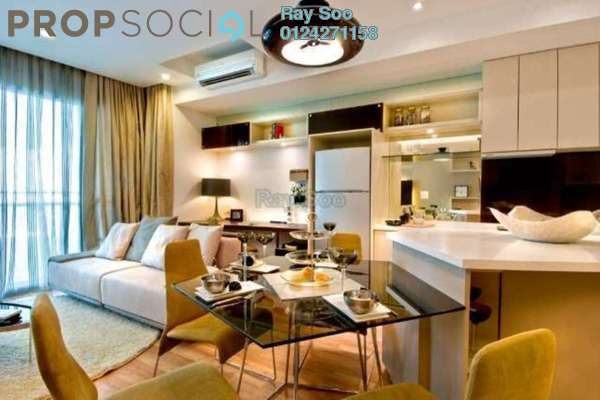 For Sale Condominium at VERVE Suites, Mont Kiara Freehold Fully Furnished 2R/2B 1.05m
