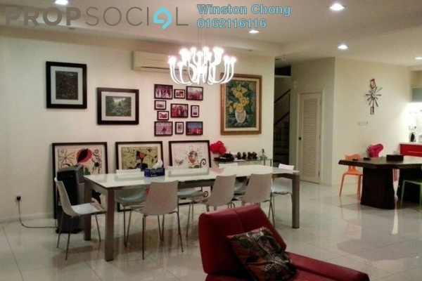 For Sale Terrace at Amelia, Desa ParkCity Freehold Semi Furnished 5R/4B 3.8百万