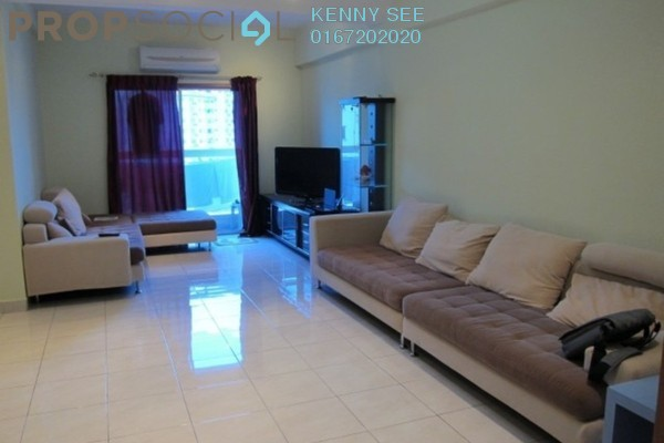 For Rent Condominium at Endah Puri, Sri Petaling Leasehold Fully Furnished 2R/2B 2.2k